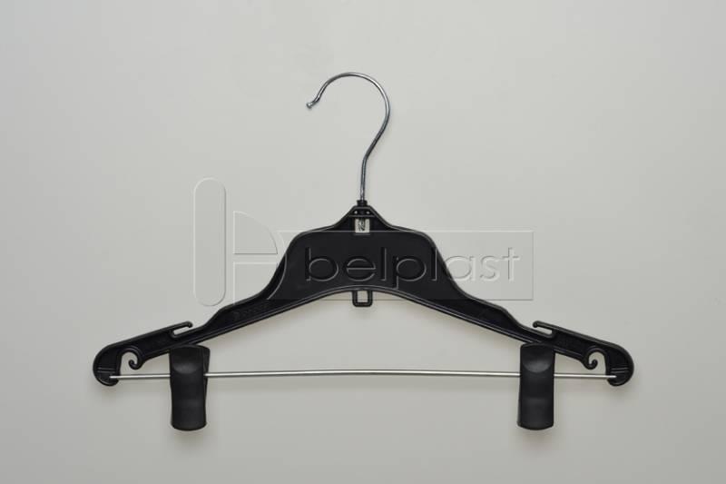 Percha Niño con barral y broche movibles / Blusa y falda - Largo 33cm