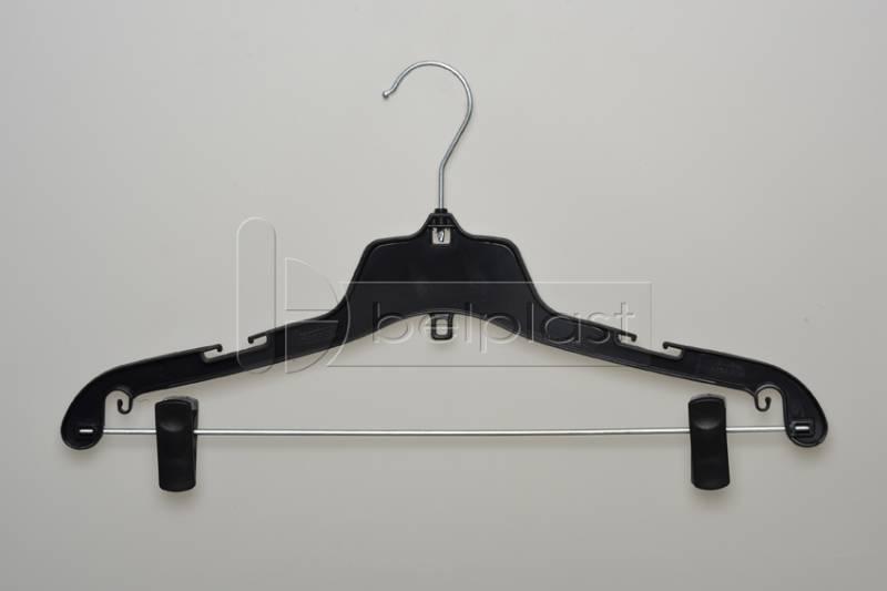 Percha Adulto con barral y broche movibles - Largo 42cm