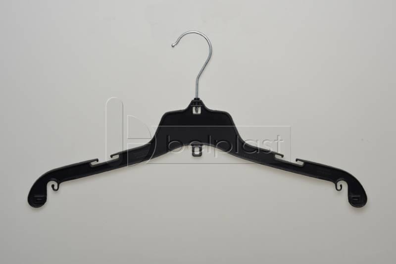 Percha Adulto con gancho metalico - Largo 42 cm