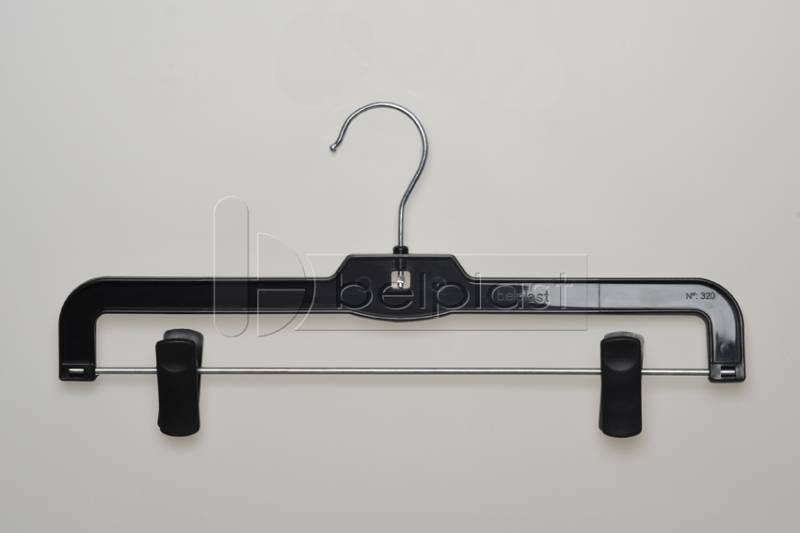 Percha con broches y gancho movibles - Largo 30cm