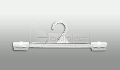Percha Falda con broches fijos - Largo 30cm